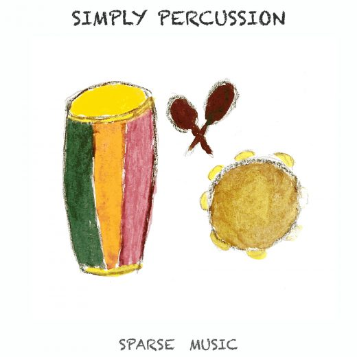Sparse Music Simply Percussion Album Cover