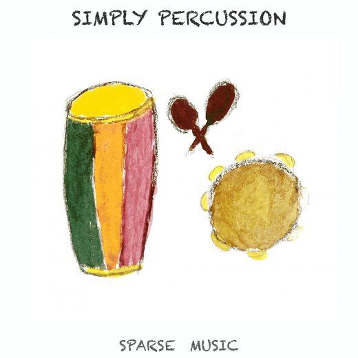 Sparse Music Simply Percussion Album Cover